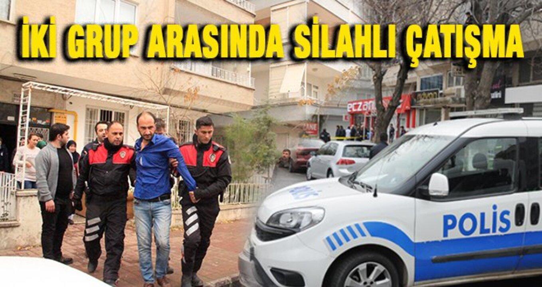Gaziantep'te silahlı çatışma: 3 yaralı