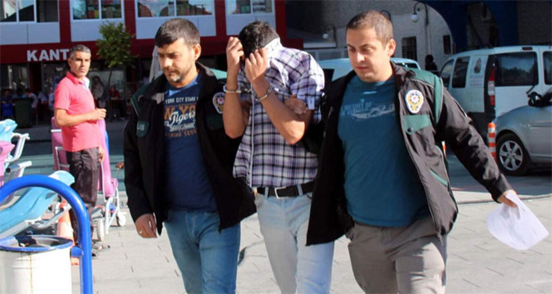 Konya'da iki kişi kamyonda uyuşturucu kullanırken yakalandı