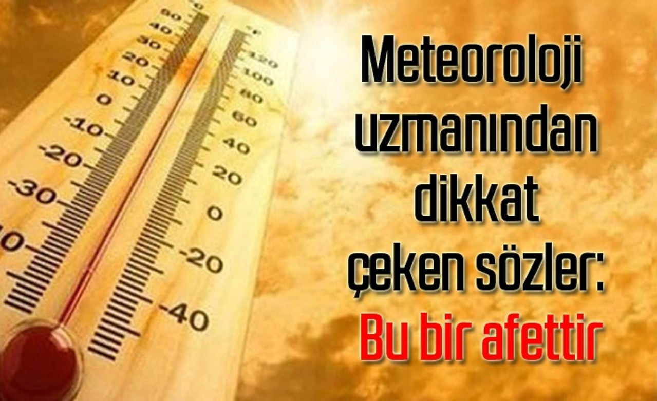Meteoroloji  dereceyi bulacak Libya sıcaklıklarına karşı uyardı!